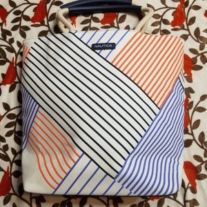 Nautica Striped Tote